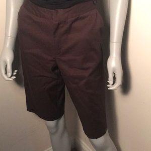 Chocolate Brown Bermuda Shorts